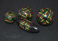schwarz-farbig-flechtmuster